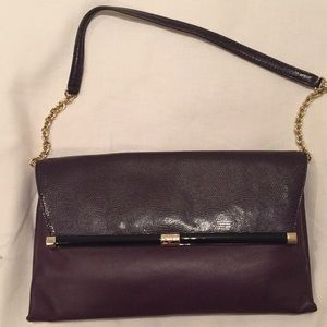 Diane von Furstenberg Shoulder bag in aubergine
